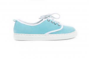 Cruise Green Blue Suede