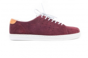 Travel Red wine Suede