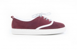 Cruise Red Wine Suede
