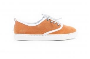 Cruise Orange Suede